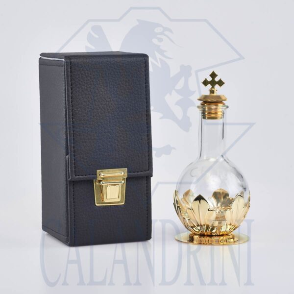 Flask for saints oils with case