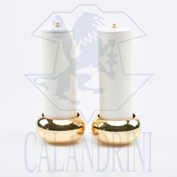 Coppia candelieri art. 574 con finte candele